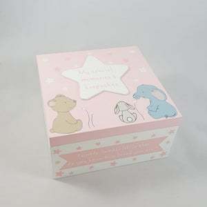 Baby Girl Keepsake Box