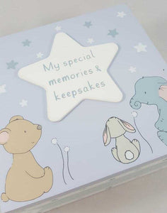 Baby Boy Keepsake Box