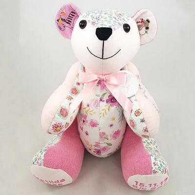 Memory Bear - Patch Design Memory Bears Lily Grace Keepsakes