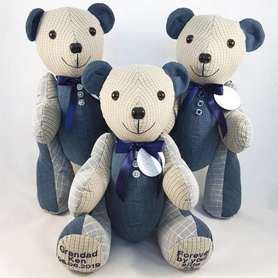 Memory Bear - Ted, our Traditional Bear Memory Bears Lily Grace Keepsakes
