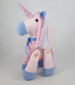Memory Bear - Unicorn Design