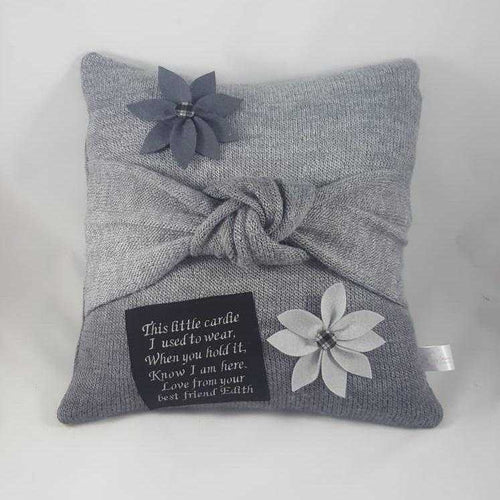 Memory Cushion - Tied Knot Design