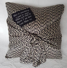 Memorial Cushion - Tied Knot Design - Memory Keepsakes