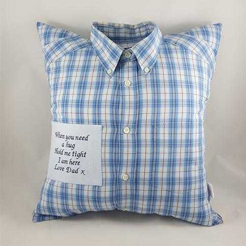 Memory Cushion - Collared Shirt Design