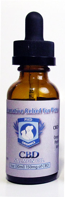 30ml Pet Alternative Relief for Pets CBD Salmon Oil Tincture