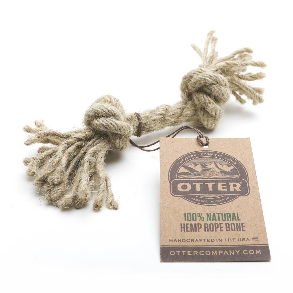 Fetch & Retrieve Hemp Rope Dog Toys