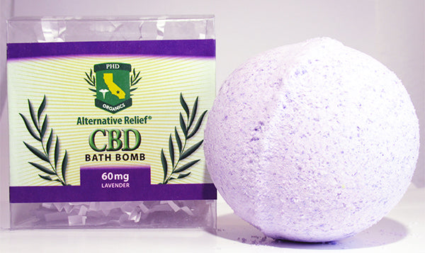 Lavender Alternative Relief Bath Bomb