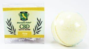 Lemon Alternative Relief Bath Bomb