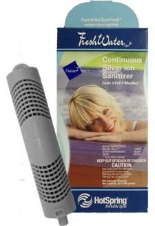 Hot Spring Spas Freshwater AG+ Continuous Silver Ion Sanitizer 71325