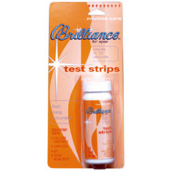 BRILLIANCE for Spas TEST STRIPS 83754