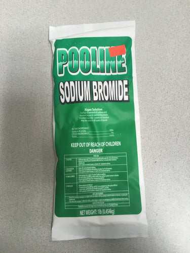 Pooline 99% Pure Sodium Bromide for Salt Systems FIVE POUND PACKAGE