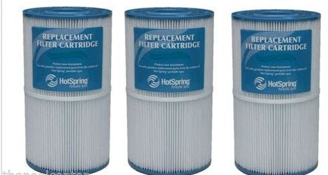 71825 Hot Spring 30 sq. ft filter THREE PACK Hot Springs 71826