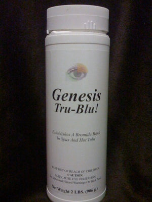 Genesis® Tru-Blu® Salt replacement 12 PACK!! True Blue  Sodium Bromide (99%)