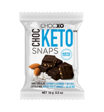 ChocKETO Dark Chocolate Coconut with Almonds & Sea Salt Snaps