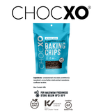ChocXO 64% No Sugar Added Baking Chips - 227 g