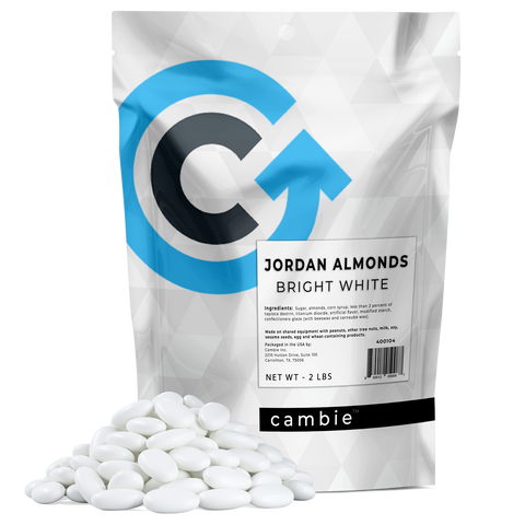 Jordan Almonds Bright White