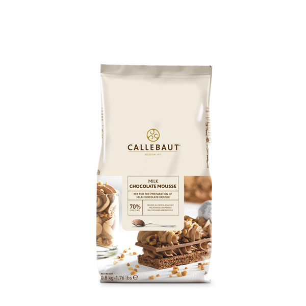 Callebaut Milk Chocolate Mousse Mix - 800 g