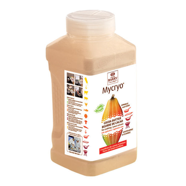 Cacao Barry Mycryo Cocoa Butter - 550 g