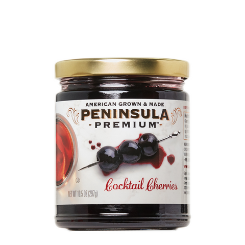 Peninsula Premium Cocktail Cherries - 10.5 oz