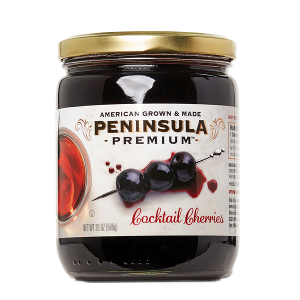 Peninsula Premium Cocktail Cherries - 20 oz