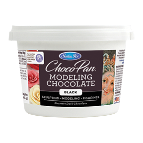 ChocoPan Modeling Chocolate - Black 1 lb