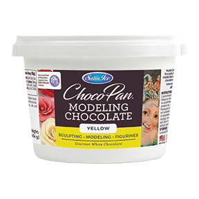 ChocoPan Modeling Chocolate - Yellow 1 lb