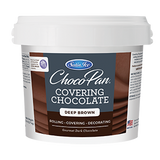 ChocoPan Covering Chocolate - Deep Brown 10 lb