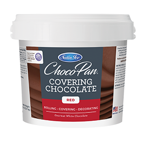 ChocoPan Covering Chocolate - Red 5 lb