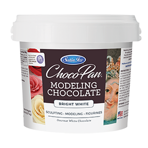 ChocoPan Modeling Chocolate - Bright White 10 lb