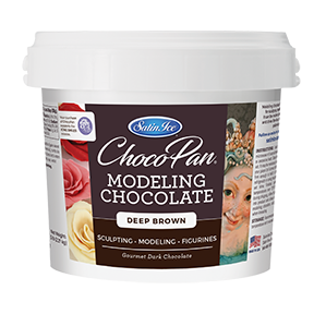 ChocoPan Modeling Chocolate - Deep Brown 5 lb