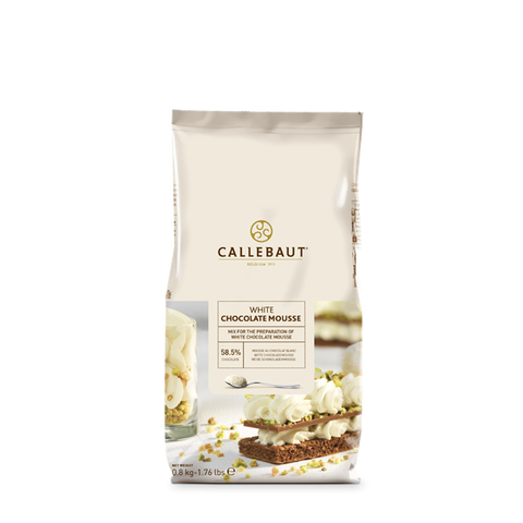 Callebaut White Chocolate Mousse Mix - 800 g