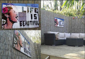 Hang Pictures & Art Outdoors? Yes, Hang it in the Garden!