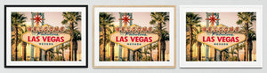 Las Vegas Framed Prints