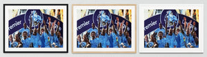 Manchester City Football Framed Prints
