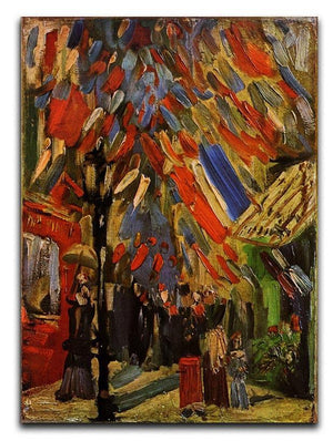 14 July in Paris by Van Gogh Canvas Print & Poster  - Canvas Art Rocks - 1