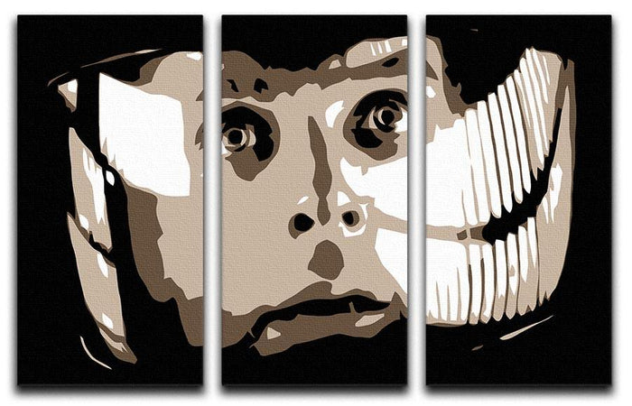 2001 A Space Odyssey Close Up 3 Split Panel Canvas Print