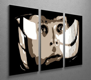 2001 A Space Odyssey Close Up 3 Split Panel Canvas Print - Canvas Art Rocks