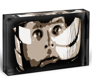 2001 A Space Odyssey Close Up Acrylic Block - Canvas Art Rocks - 1