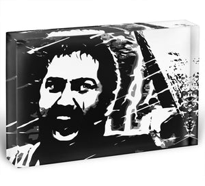 300 Movie King Leonidas Acrylic Block - Canvas Art Rocks - 1