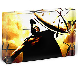 300 Movie Shield Acrylic Block - Canvas Art Rocks - 1