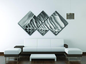 42nd Street 4 Square Multi Panel Canvas - Canvas Art Rocks - 3