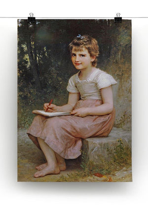 A Calling 1896 By Bouguereau Canvas Print or Poster - Canvas Art Rocks - 2