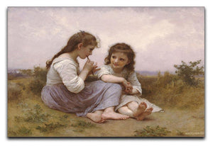 A Childhood Idyll 1900 By Bouguereau Canvas Print or Poster  - Canvas Art Rocks - 1