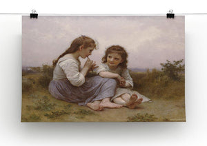 A Childhood Idyll 1900 By Bouguereau Canvas Print or Poster - Canvas Art Rocks - 2