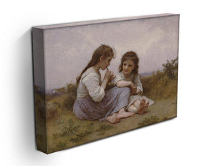 A Childhood Idyll 1900 By Bouguereau Canvas Print or Poster - Canvas Art Rocks - 3