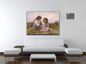 A Childhood Idyll 1900 By Bouguereau Canvas Print or Poster - Canvas Art Rocks - 4