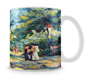 A Garden in Montmartre by Renoir Mug - Canvas Art Rocks - 1