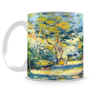 A Garden in Montmartre by Renoir Mug - Canvas Art Rocks - 2