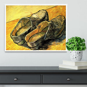 A Pair of Leather Clogs by Van Gogh Framed Print - Canvas Art Rocks -6