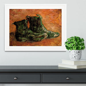 A Pair of Shoes by Van Gogh Framed Print - Canvas Art Rocks - 5